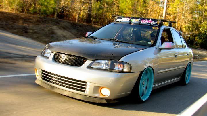 Nissan Sentra SER spec v slammed  Cars  Japan  Pinterest
