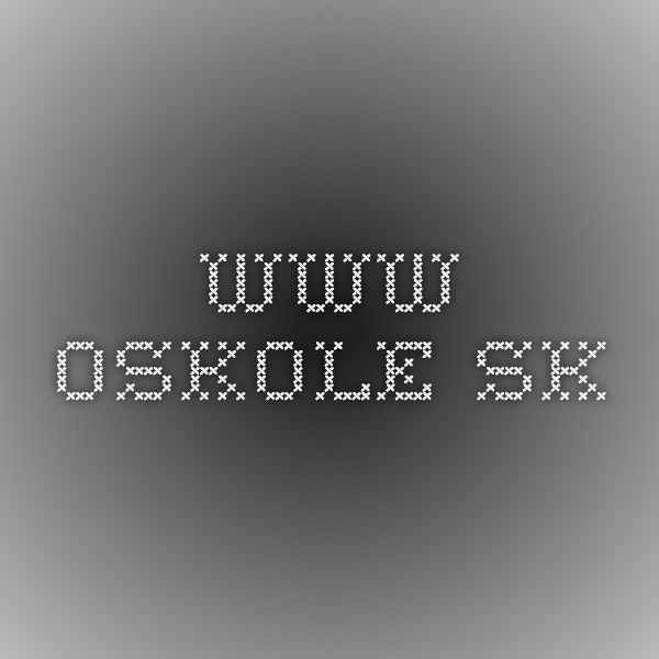 www.oskole.sk