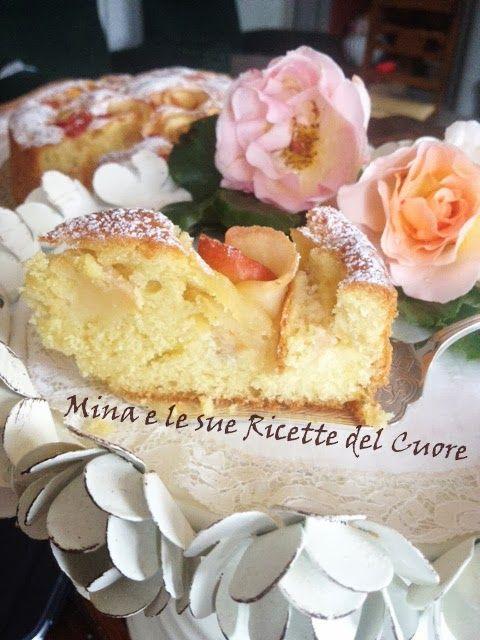 Mina e le sue Ricette del Cuore: Torta con rose di mele Florina #torta #applepie #pie #dessert #merenda #dolce #mele