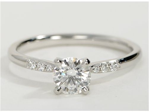 Cz Engagement Ring Sets