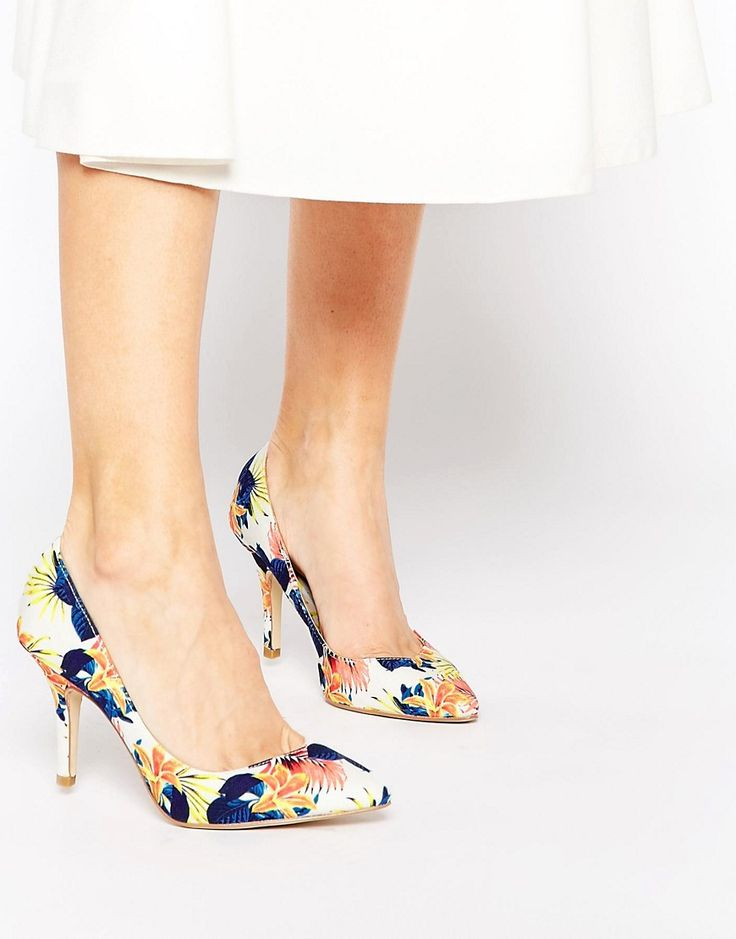 Image 1 of Ravel Floral Court Shoes
