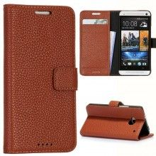 Forro HTC One - Tipo Libro Marron  $ 34.798,06
