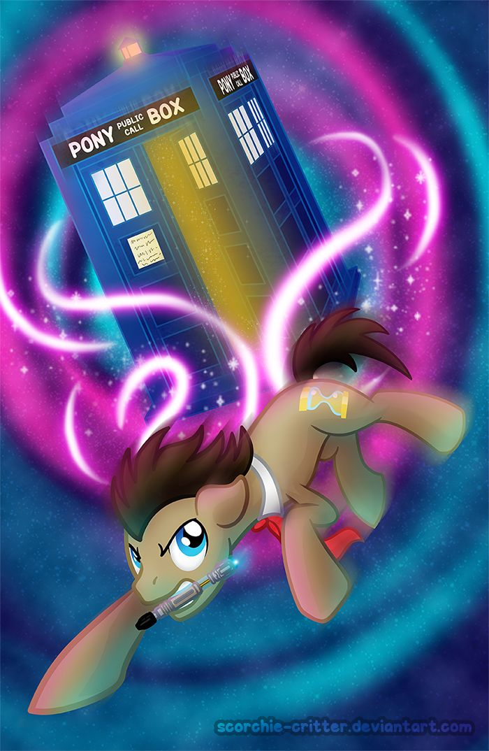 Dr. Whooves by Scorchie-Critter on DeviantArt