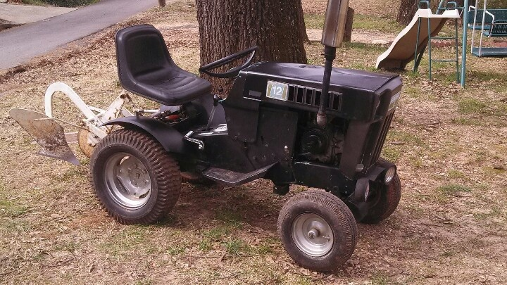 Sears Ss12 Garden Tractor : My sears suburban ss garden tractor classic