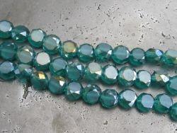 Kristallikolikko sinivihreä AB (8mm) - Helmien talo