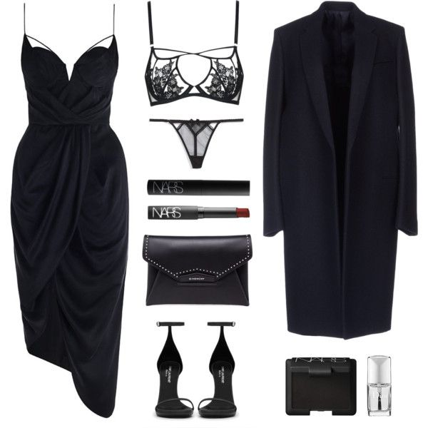 Classy by baludna on Polyvore featuring Zimmermann, L'Agent By Agent Provocateur, Agent Provocateur, Yves Saint Laurent, Givenchy, NARS Cosmetics and Christian Dior