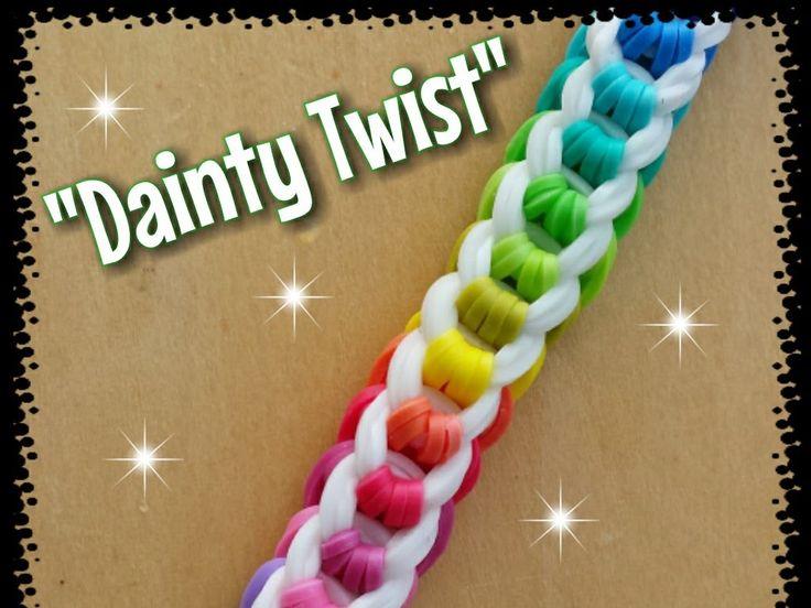 Snap Bracelet Rubber Band Bracelet Tutorial Make Crazy Loom