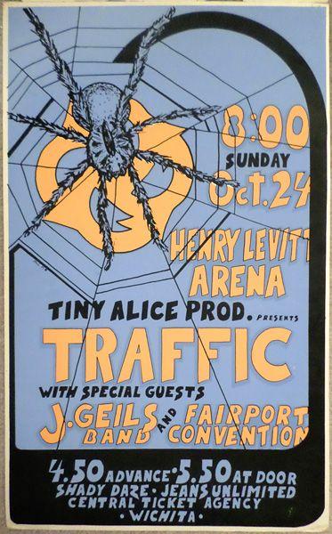 Traffic, J.Geils Band, Fairport Convention - Tulsa 1971