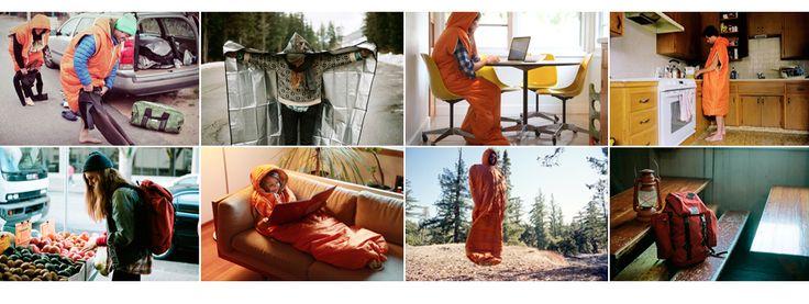 A sleeping bag you can wear!