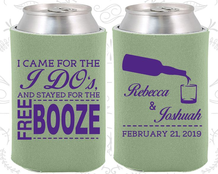 Sage Wedding, Can Coolers, Sage Wedding Favors, Sage Wedding Gift, Sage Custom Koozies (370)