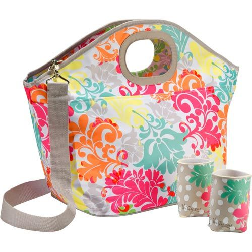 Bring the party with you! This Hostess Exclusive is one of our largest thermals so it has room to store snacks for the whole family, but the shoulder strap makes it so easy to carry. It even comes with a set of two can coolers. Valued at $75, host a party and purchase it for just $25!