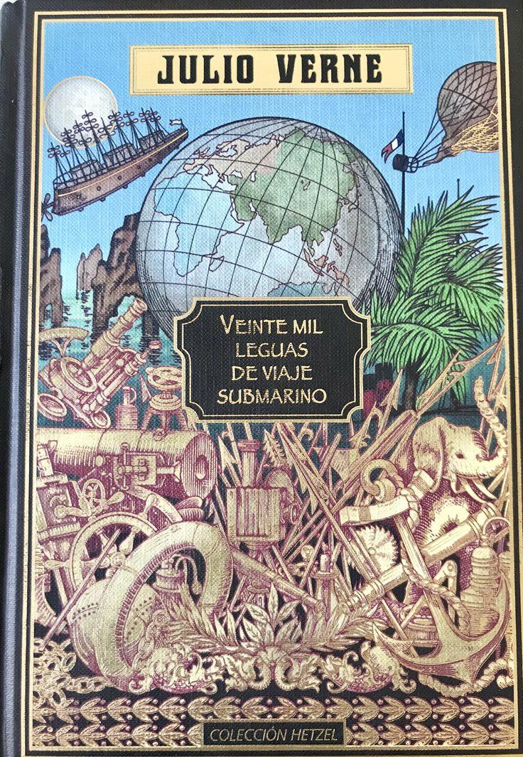 Veinte Mil Leguas De Viaje Submarino - Julio Verne.