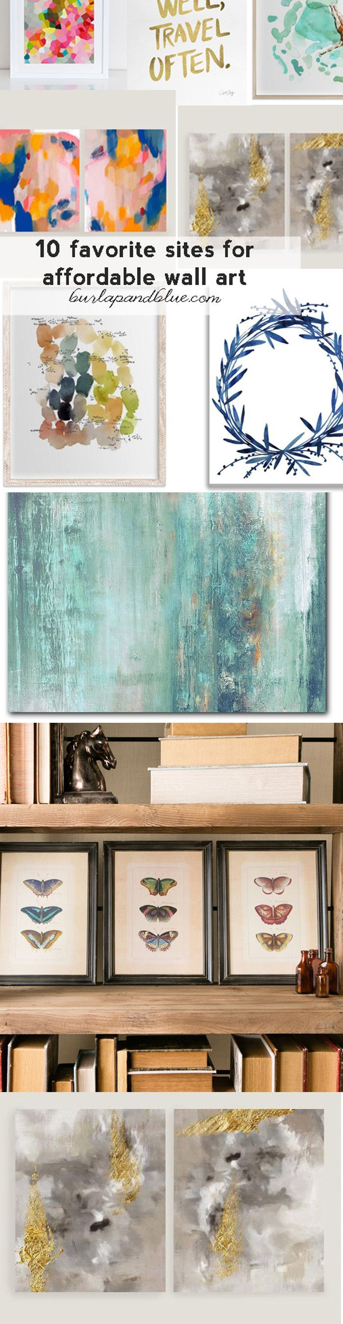10 best sites for affordable wall art