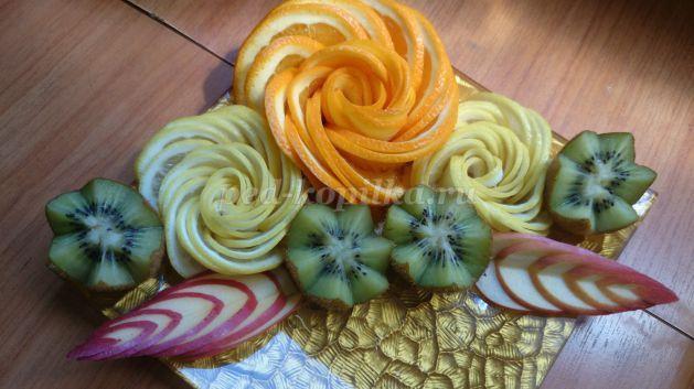 Фигурная нарезка из овощей и фруктов http://ped-kopilka.ru/blogs/gest-ksenija/figurnaja-narezka-i-karving-iz-ovoschei-i-fruktov-vkusnaja-cvetochnaja-fantazija.html
