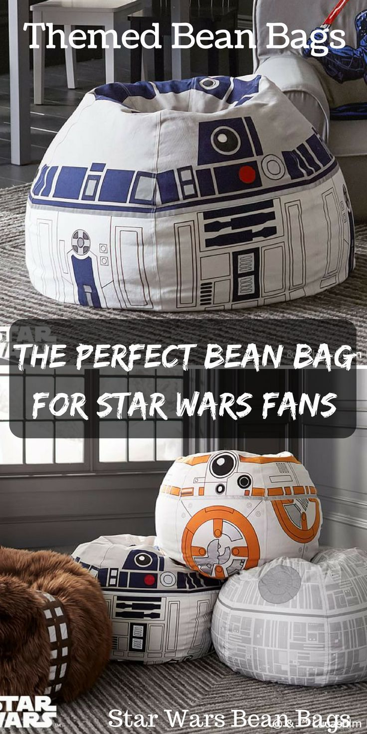 Star Wars Themed Bean Bags Are Great For Star Wars Fans And Kids