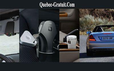 Concours gagnez un ensemble de gadgets pour voiture | Québec Gratuit