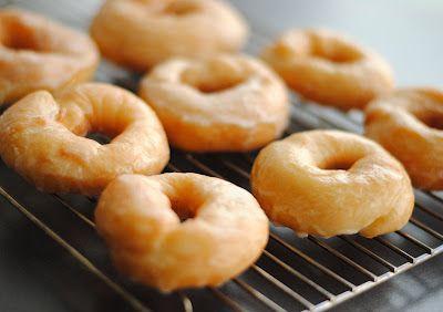 Leanne bakes: Glazed Doughnuts