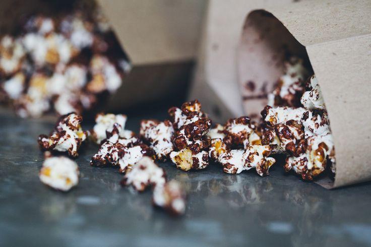 Dark Chocolate & Sea Salt Popcorn