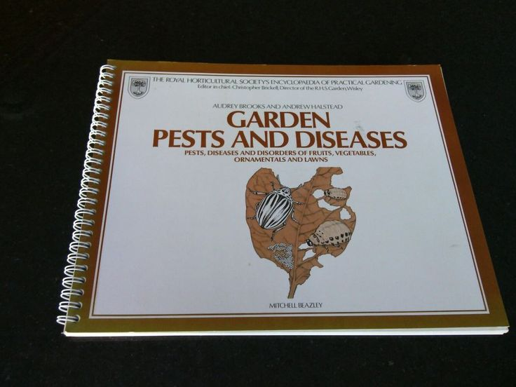 Royal Horticultural Society's Garden Pests & Diseases Paperback by Audrey Brook | eBay
