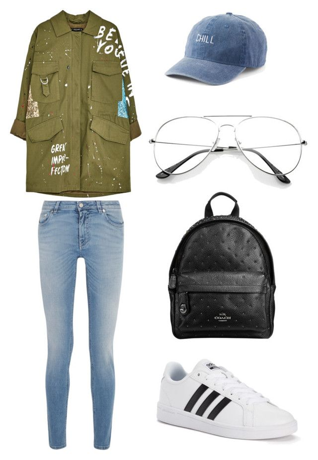 """army look"" by meysiskatikha on Polyvore featuring Givenchy, adidas, SO and Miu Miu"