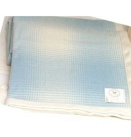 SPRING CASHMERE AND WOOL BABY BED BLANKET TRENDY WITH LIGHT PICTURES