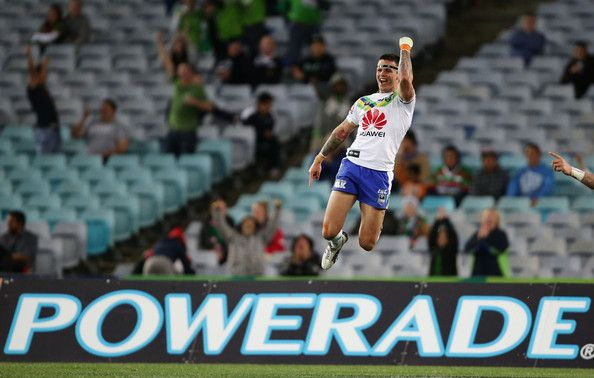 2012 NRL Semi Final 2 - Rabbitohs v Canberra Raiders - Sandor Earl