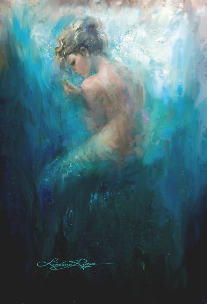 Buy Sitting Mer Art Print by Lindsay Rapp. Worldwide shipping available at Society6.com. Just one of millions of high quality products available.