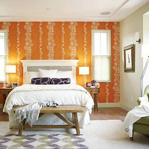 17 Best Ideas About Orange Bedroom Decor On Pinterest