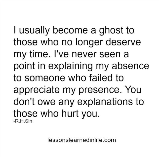 Lessons Learned in Life | Those who hurt you.