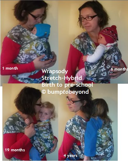 Wrapsody Stretch Hybrid - sooooo light and soft, yet supportive and versatile