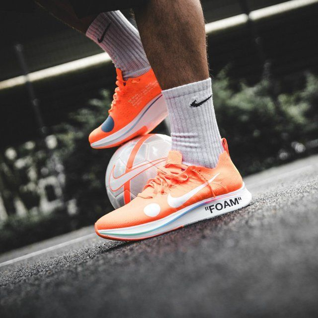 first rate low price sale cheap sale Nike Zoom Fly Mercurial Off-White Total Orange - #Fly #Mercurial ...