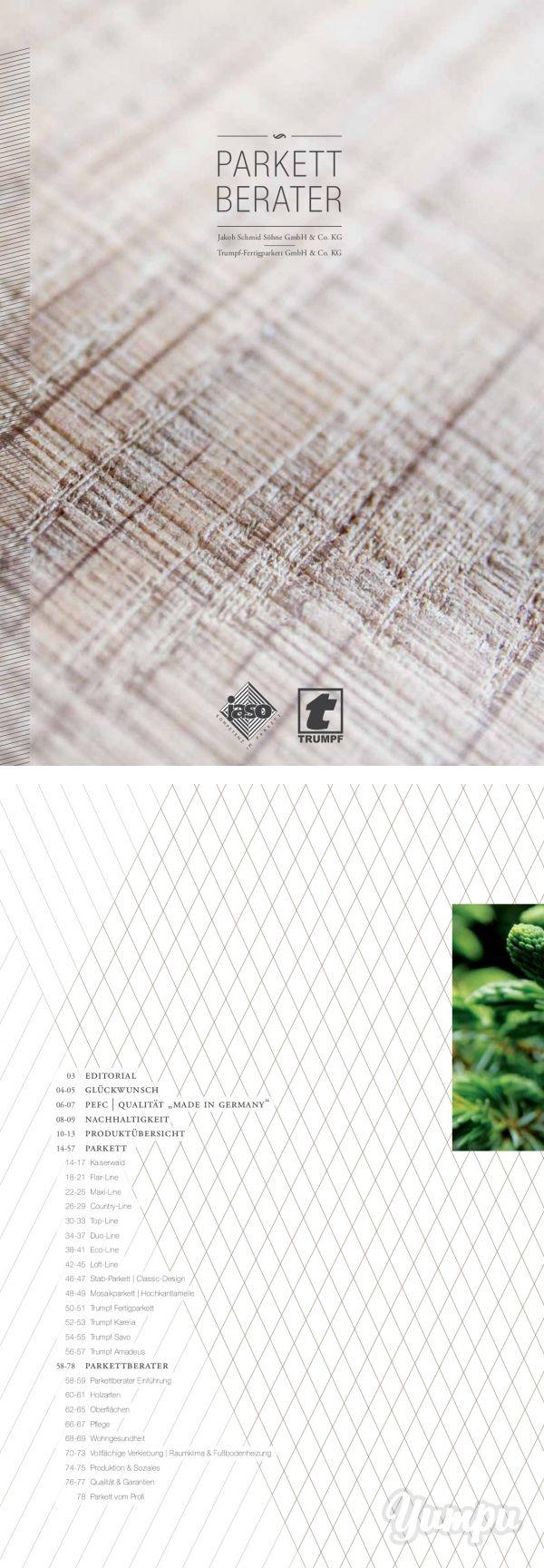 Jaso - digitaler Parkett Berater - In diesem Magazin erleben Sie den digitalen Parkett Berater zu den einzigartigen Parkettböden der Firma Jaso & Trumpf. Charakterstarke Böden perfekt in Szene gesetzt.