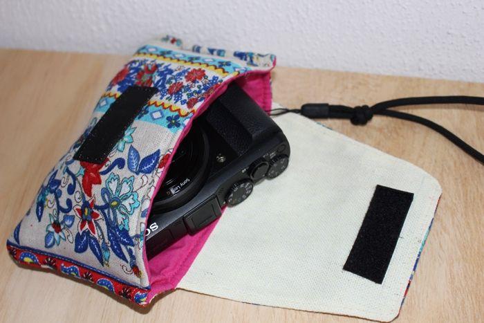 Bolso para Cámara de Fotos DIY
