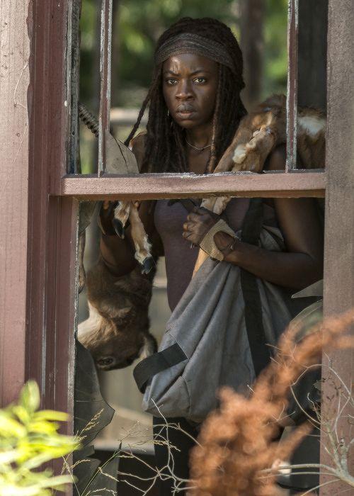 The Walking Dead Season 7 Episode 4 'Service' Michonne