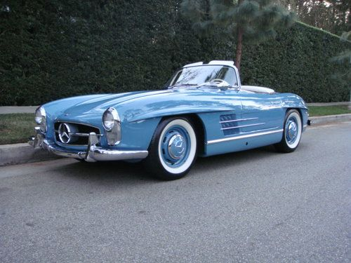 Russo & Steele/Mecum January Highlights on 2 February 2013 by  combining two auction highlights into one post: Russo & Steele's Scottsdale sale as well as Mecum's Kissimmee Sale. First up, Russo & Steele. Their top sale was a 1958 Mercedes-Benz 300SL Roadster. It sold for 727,100 USD