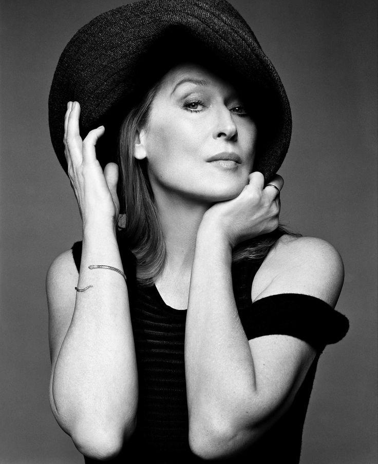 Meryl Streep (1949) - American actress for theater, film, TV. Photo © Michael Thompson, 2013