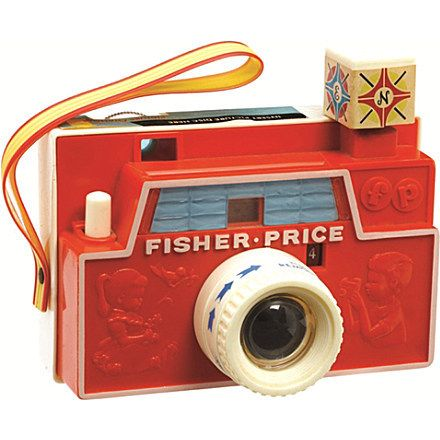 FISHER-PRICE'S CLASSICS CHANGEABLE PICTURE DISK CAMERA. You can purchase it here: http://www.tatataworld.com/product/fisher-price-s-classics-changeable-picture-disk-camera