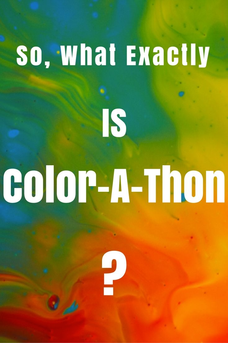 71 best Color-A-Thon images on Pinterest | Color powder, Curriculum ...