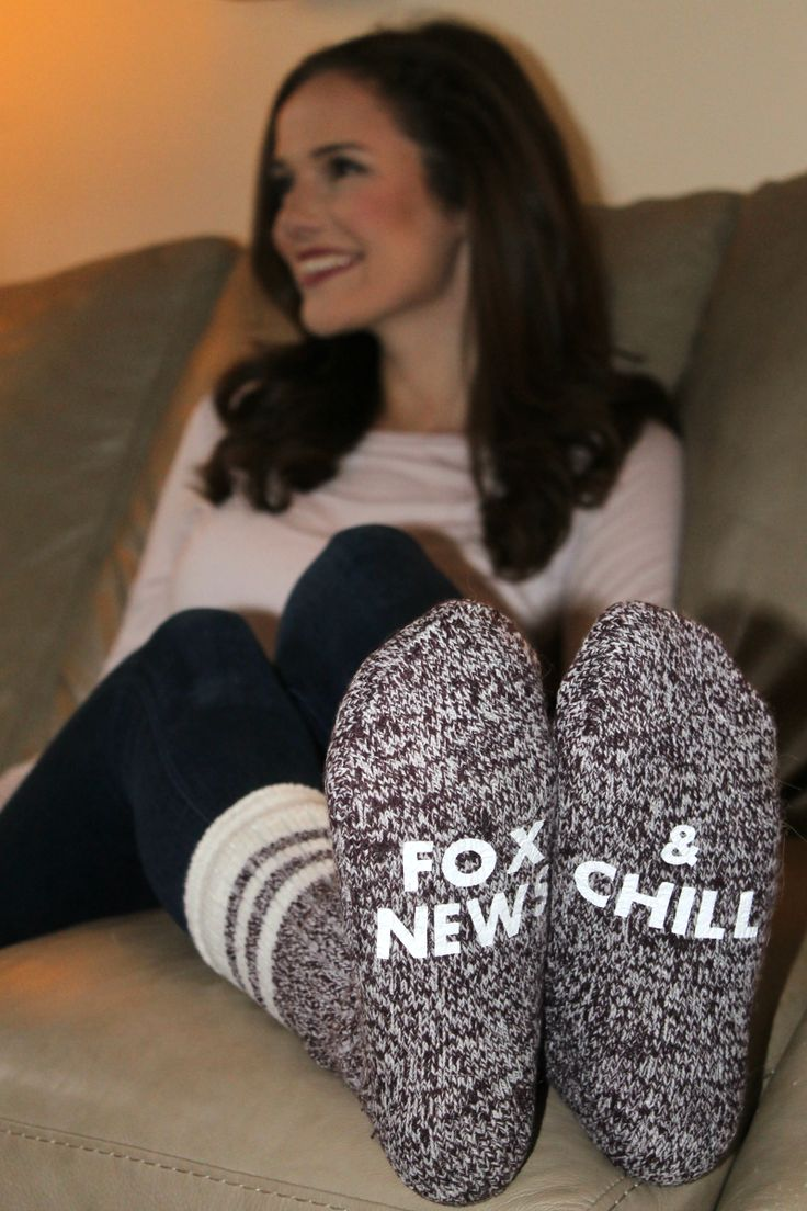 Fox News & Chill Cabin Socks-