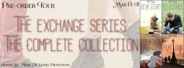 Tracey A Wood's - The Author's Blog - Blog spot: The Exchange Series: The Complete Collection by M....