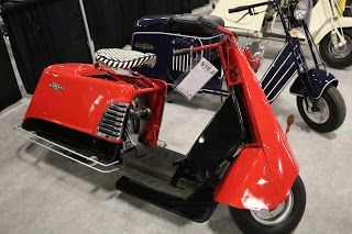 OldMotoDude: 1954 Allstate Scooter sold for $3,250 at the 2017 ...