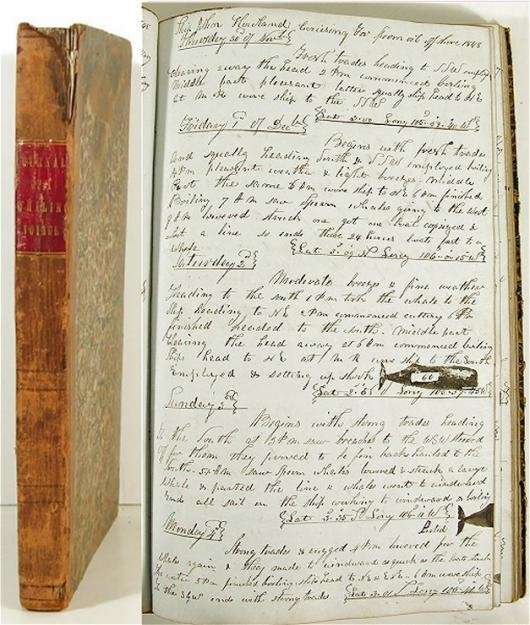 1847-51-MANUSCRIPT-WHALING-SHIP-LOGBOOK-w-WHALE-STAMPS.jpg