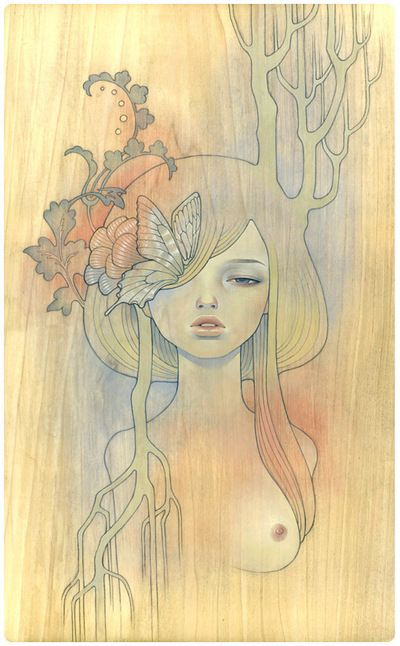 Audrey Kawasaki.  Can't get enough of her work.