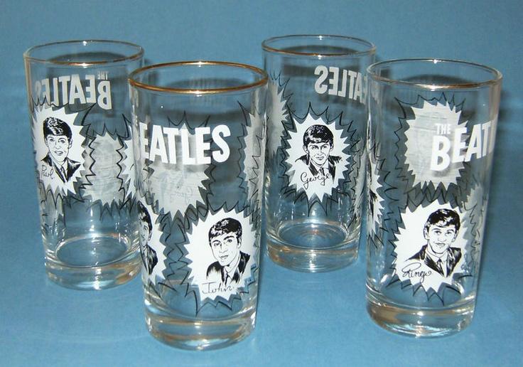 Vintage Beatles Glasses!