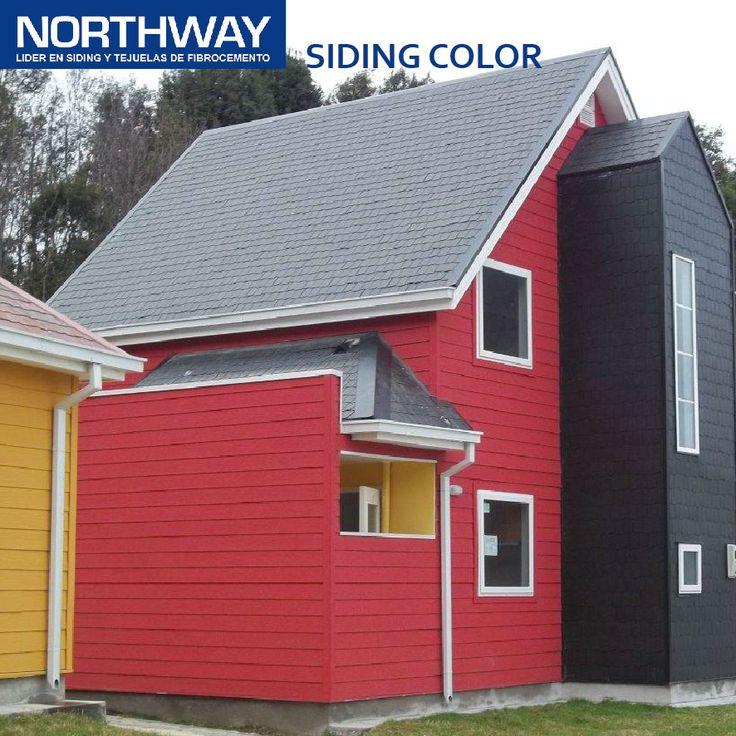 Siding Color de Fibrocemento - NORTHWAY - Tejas de Chena