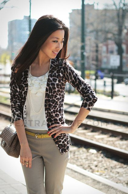 How to Style a Leopard Cardigan for Casual and Work Wear