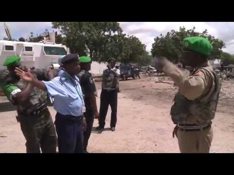 AMISOM Frontline: Police Unit - The AMISOM Frontline series tells the story of African Union troops as they undertake a stabilization mission in Somalia. These films depict the range of challenges faced by the AMISOM soldiers on a daily basis, and covey the message that this mission is a much more diverse undertaking than many understand it to be.