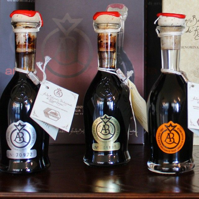 Aragosta, Silver or Gold? This is our Traditional #BalsamicVinegar of #ReggioEmilia respectively 12, 18 and 25 years old.  #Ferrarini #LoveItaly #Italy