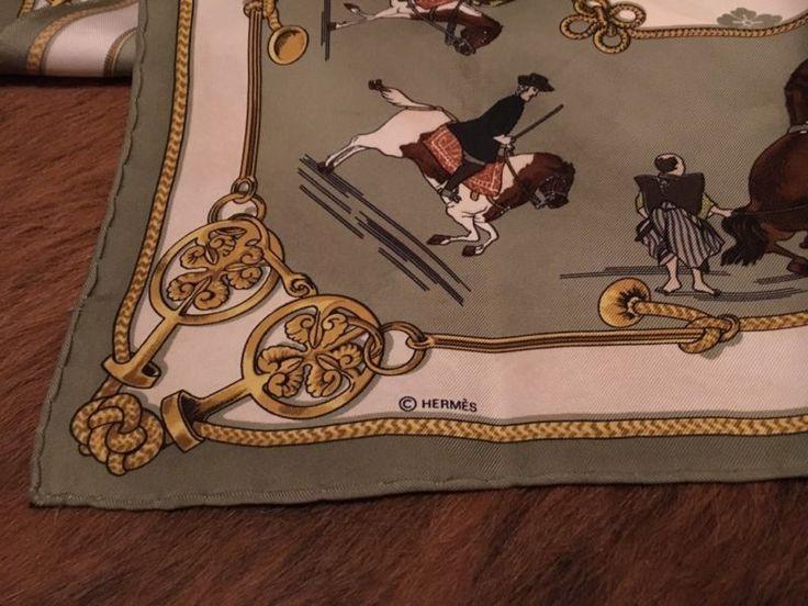 Hermes Seidentuch, Schal Tuch Seide ORIGINAL in Frankfurt (Main) - Nordend | eBay Kleinanzeigen