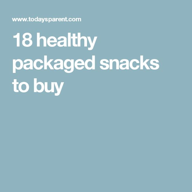 18 healthy packaged snacks to buy